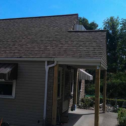 slate and title roofing